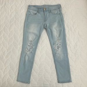 American Eagle High-Waisted Ankle Jegging